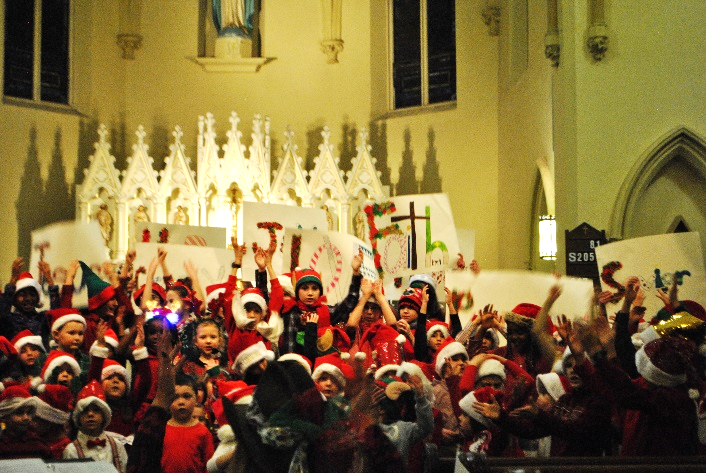 christian catholic school christmas play