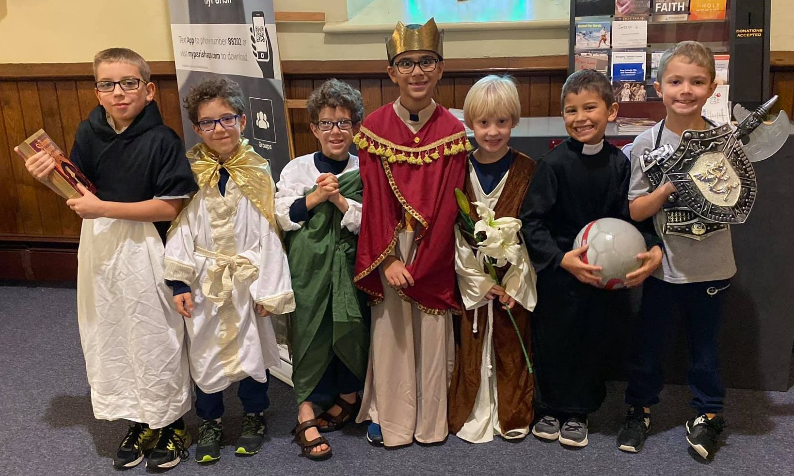 christian catholic school all saints day